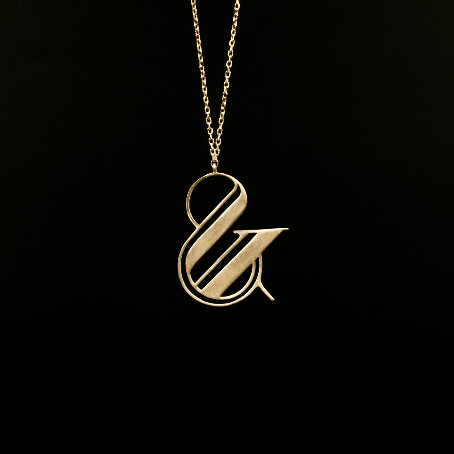 Logo Ampersand - Designed by Moshik Nadav Fashion Typography