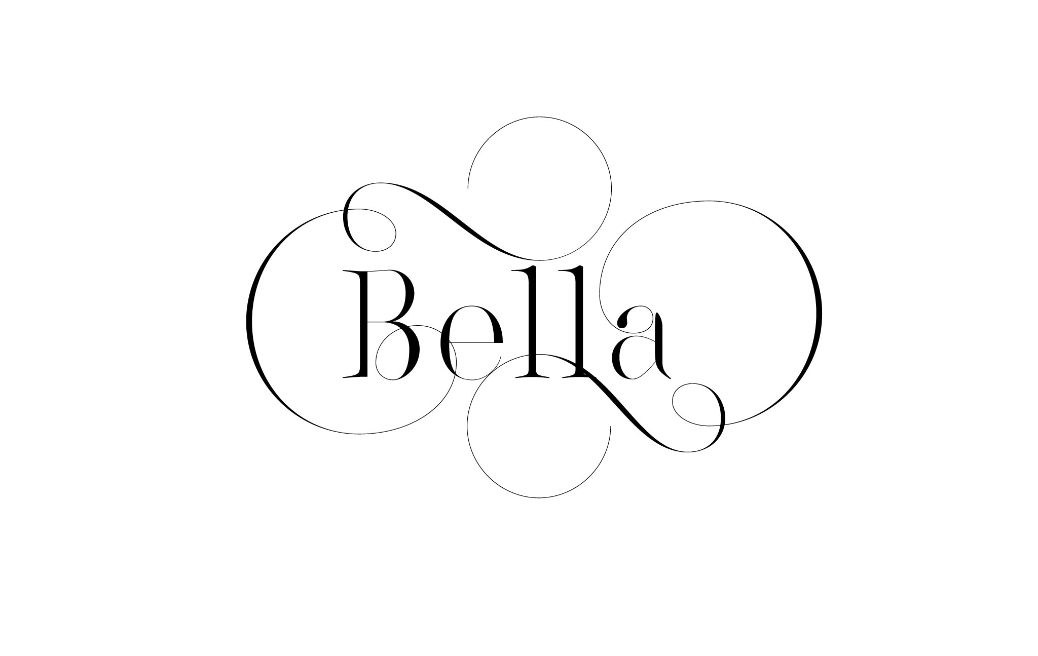 Lingerie XO Sexy Typeface for Fashion with amazing Ligatures by Moshik Nadav Typography - Bella