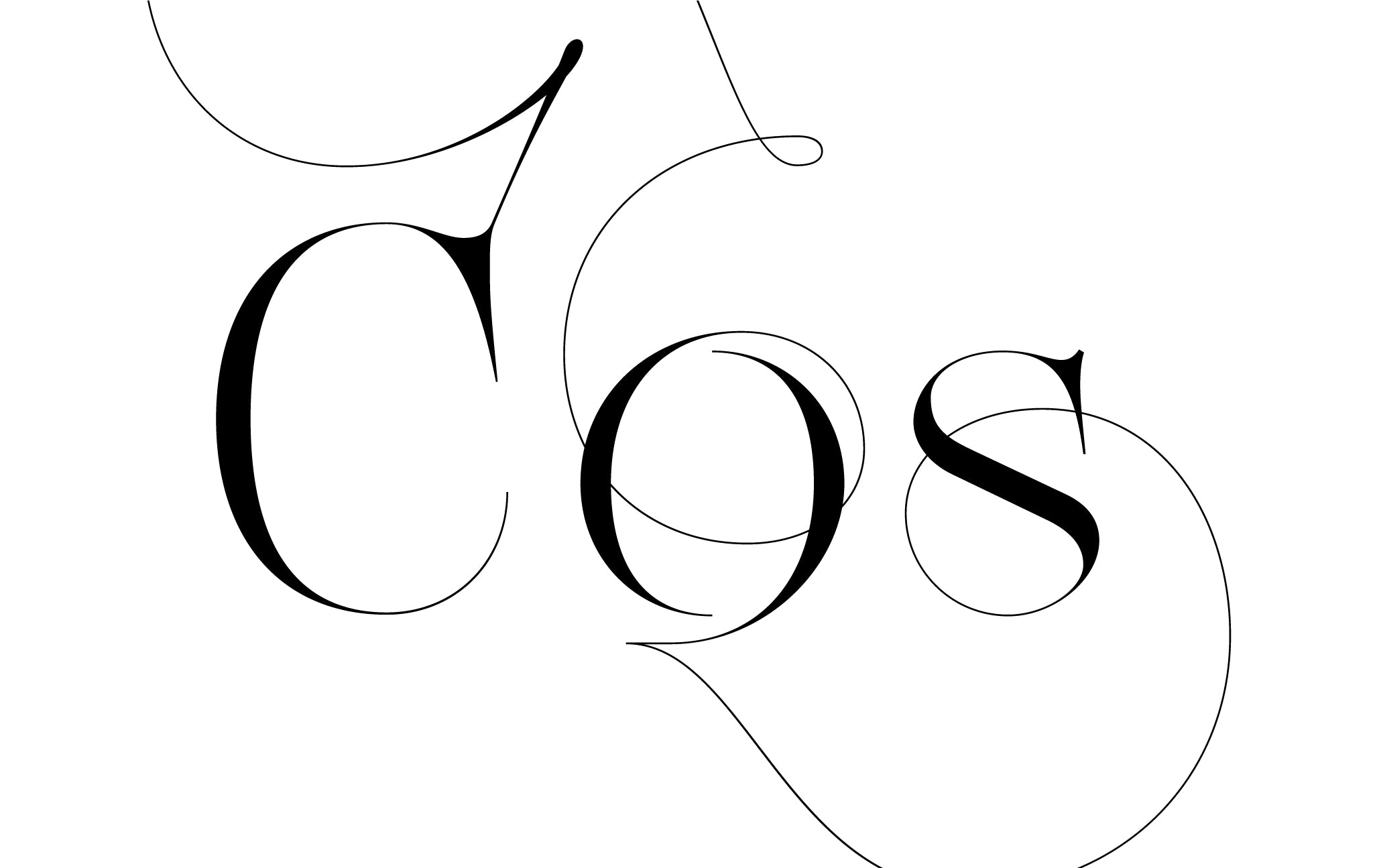 Lingerie XO Sexy Ligatures by Moshik Nadav Typography - COS