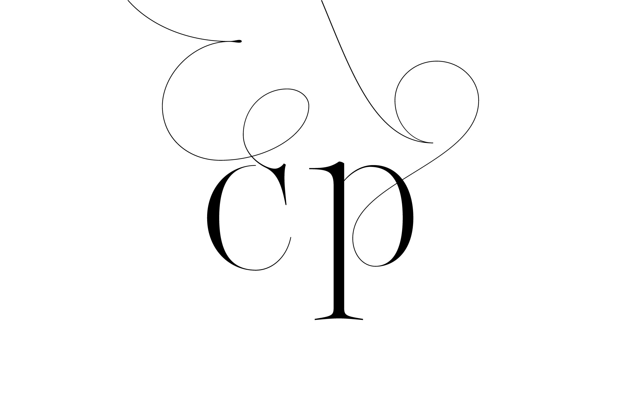 Lingerie XO Sexy Ligatures by Moshik Nadav Typography - cp