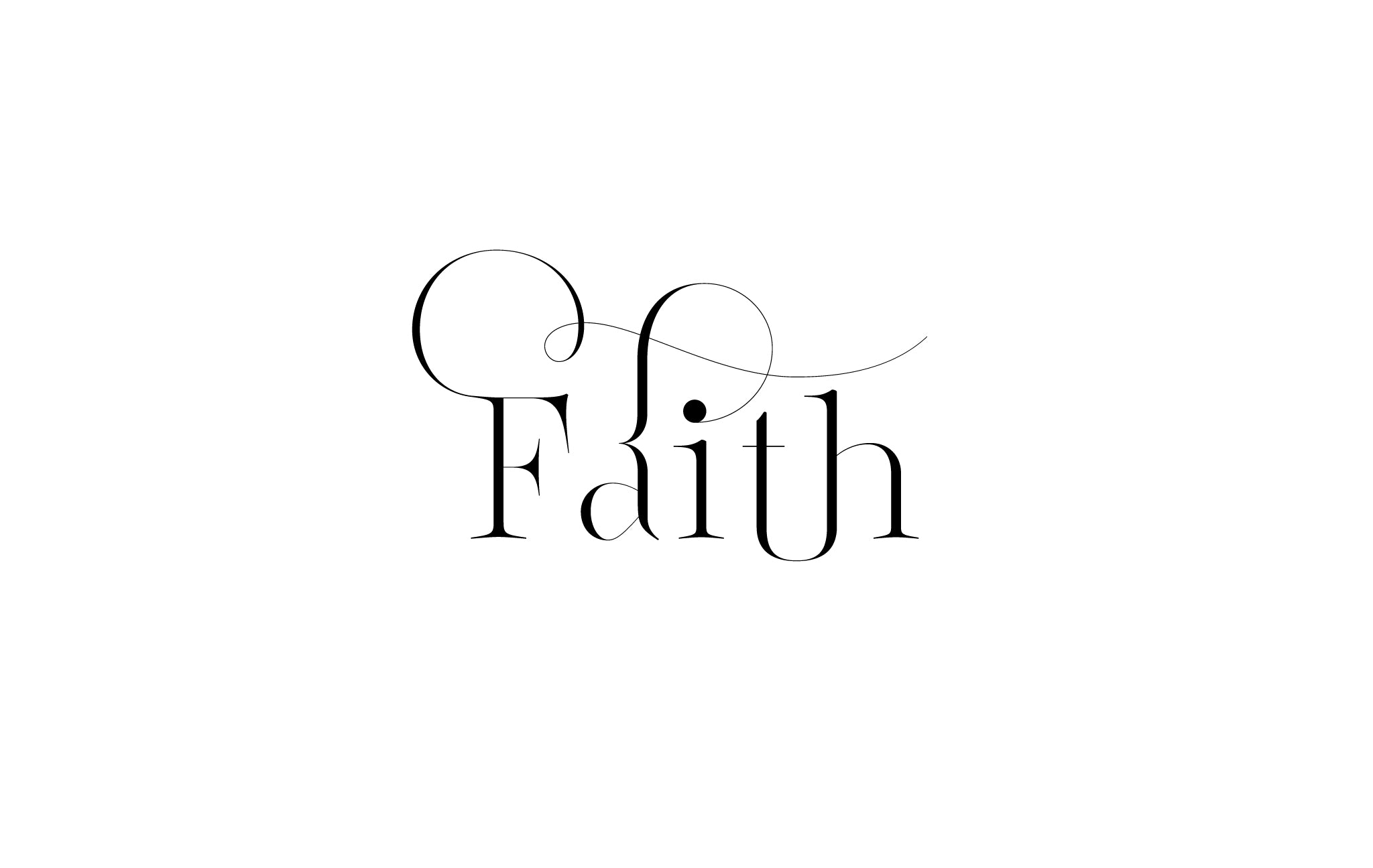 Lingerie XO Sexy Typeface for Fashion with amazing Ligatures by Moshik Nadav Typography - Faith