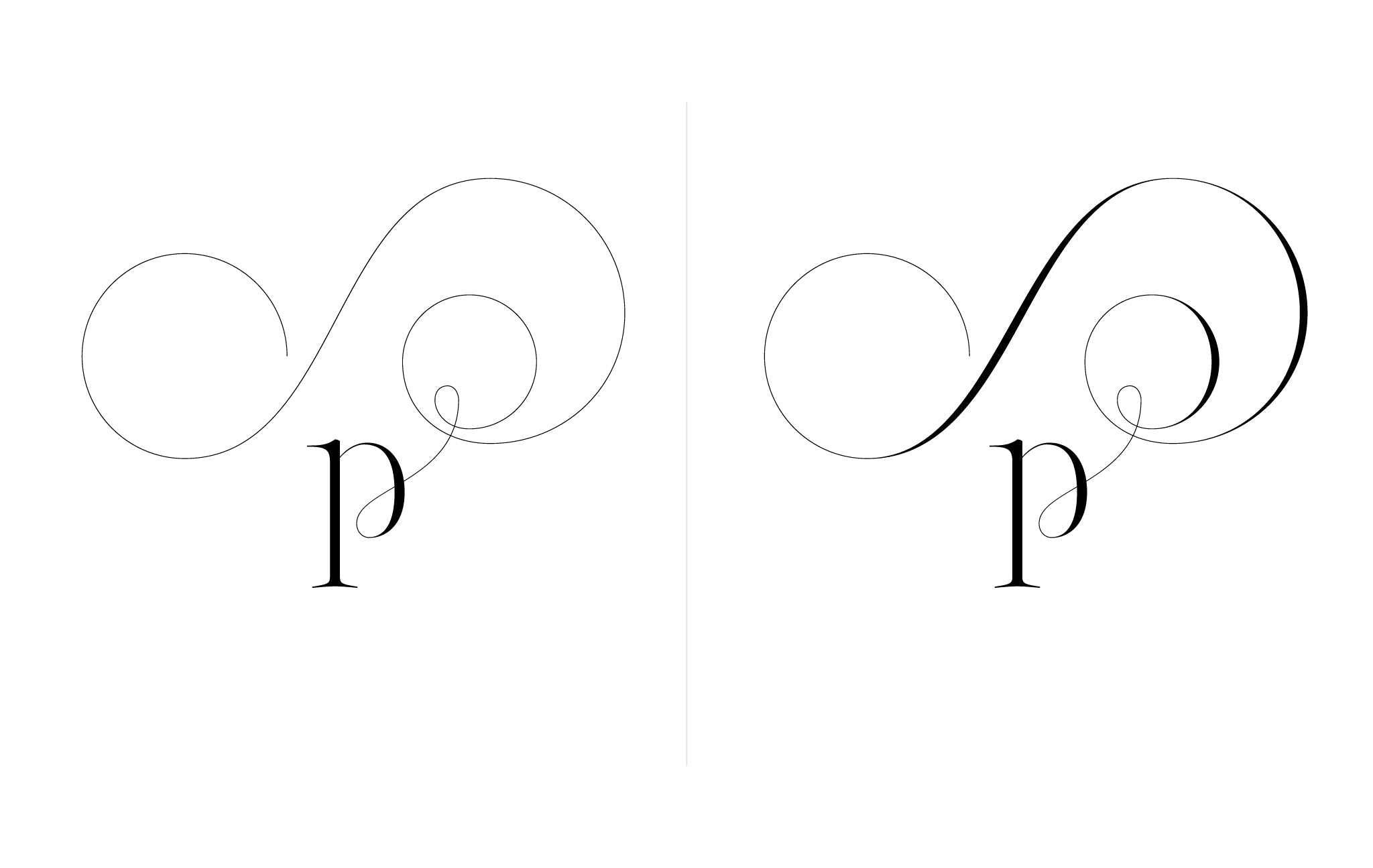 Lingerie XO Sexy Ligatures by Moshik Nadav Typography - p
