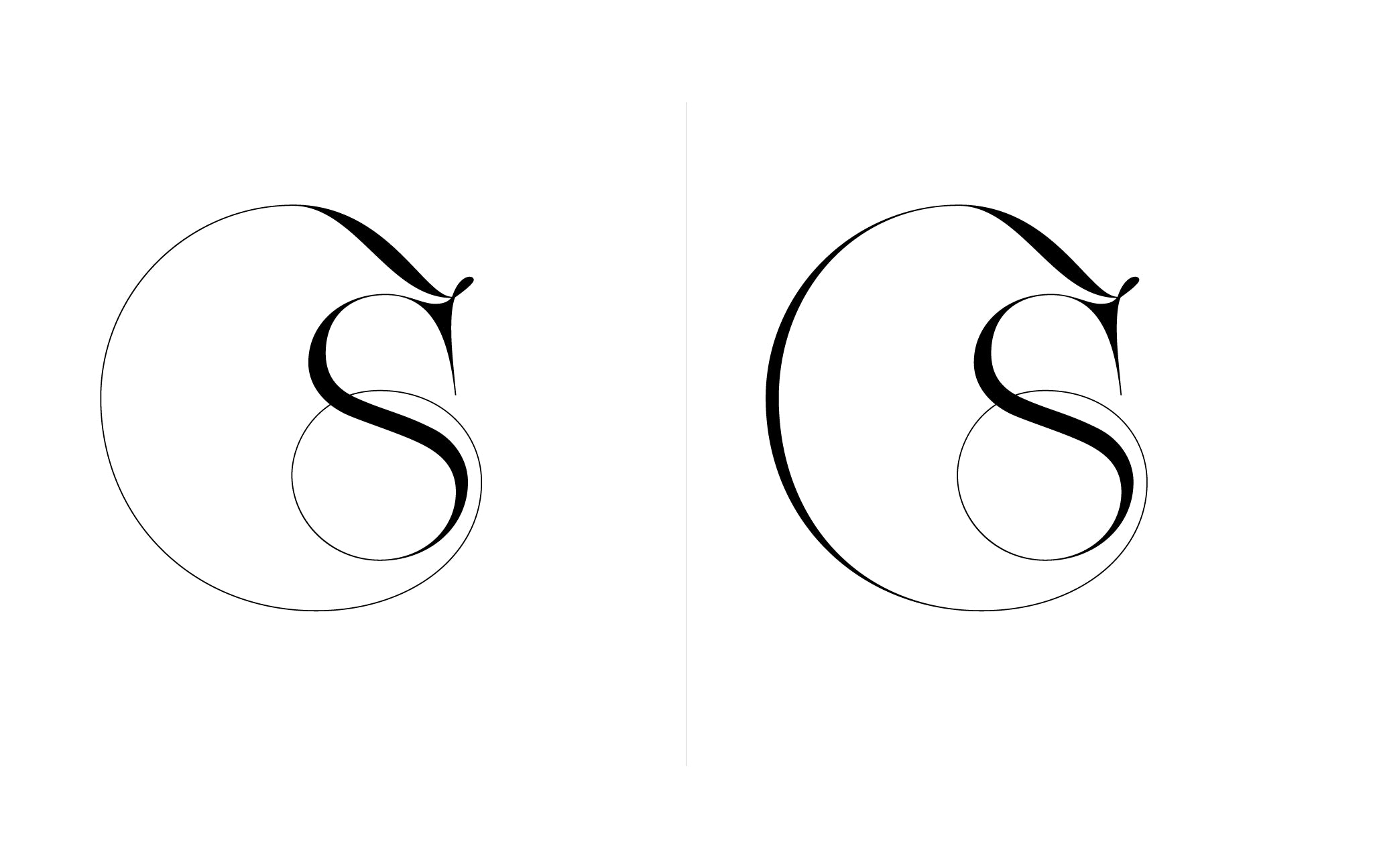 Lingerie XO Sexy Ligatures by Moshik Nadav Typography - S