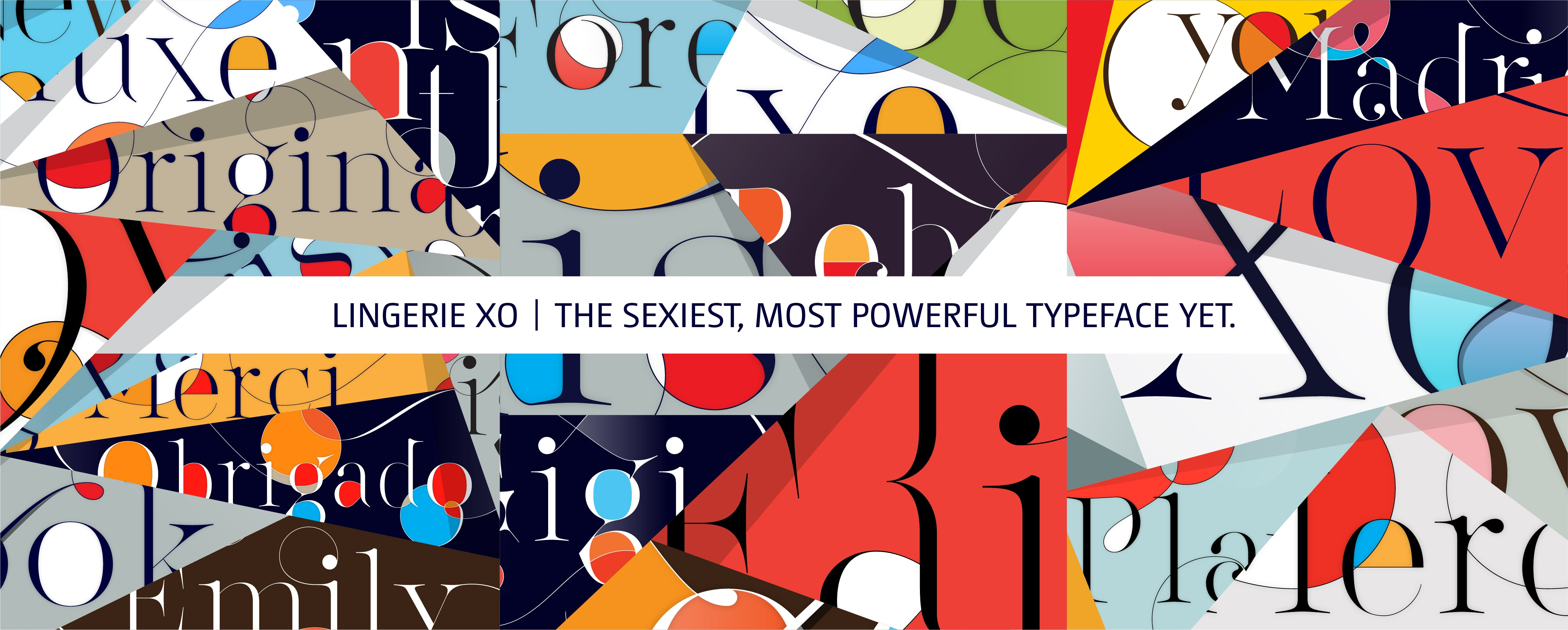 Lingerie XO Typeface - Super Sexy Font for Fashion Magazines and Luxury Brands