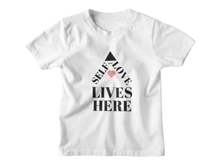 Load image into Gallery viewer, Self-Love Lives Here Youth Tee