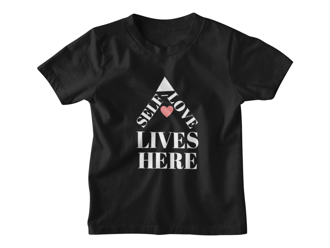 Self-Love Lives Here Youth Tee