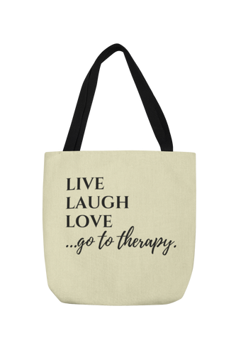 Live Laugh Love Thera-Tote