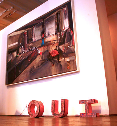 sculptural play words | OUI | IOU or IOU R IT