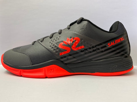 Salming Viper 5 Gun Metal Grey Squash Shoe