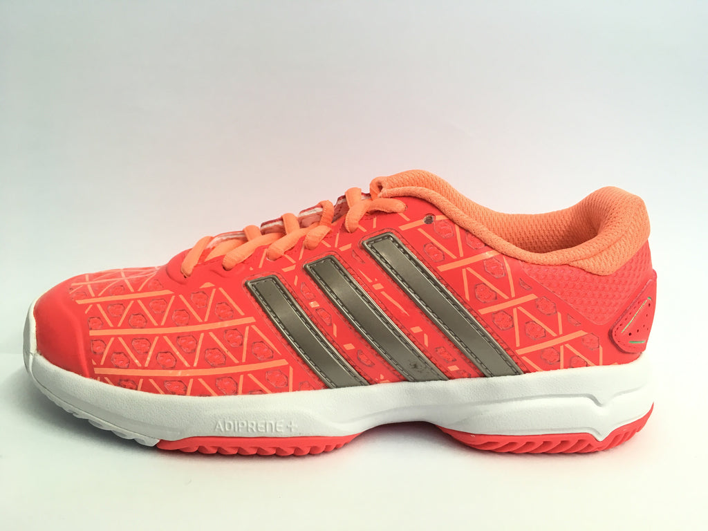 Adidas Barricade Club xJ Pink Junior Tennis Shoe