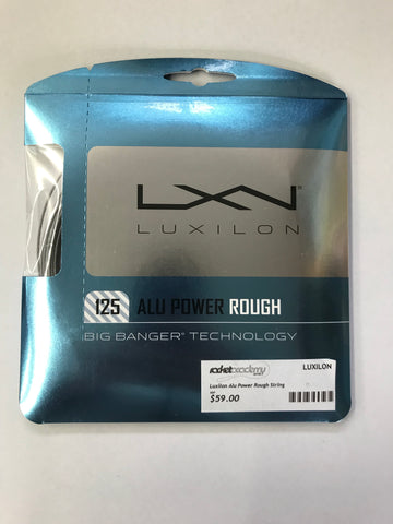 Luxilon Alu Power Rough 125 Tennis String
