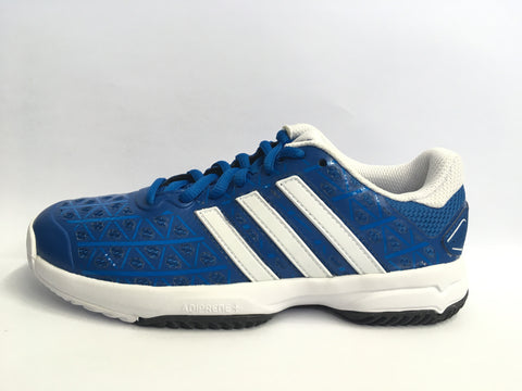 Adidas Barricade Club xJ Blue Junior Tennis Shoe