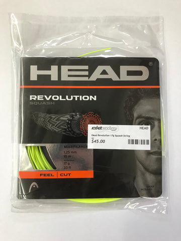 Head Revolution Pro Squash String