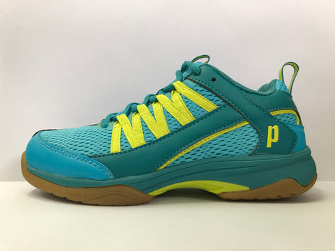 Prince Vortex Teal Women's Squash Shoe