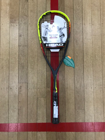Head Nano Ti Heat Squash Racket