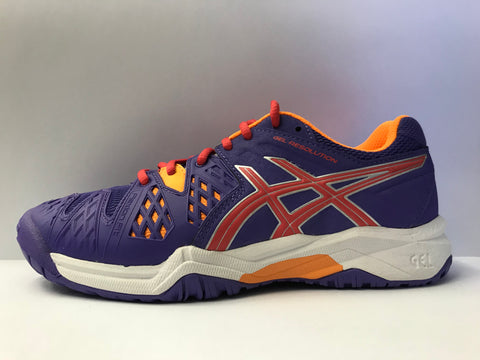 Asics Gel Resolution 6 Lavender Junior Shoe