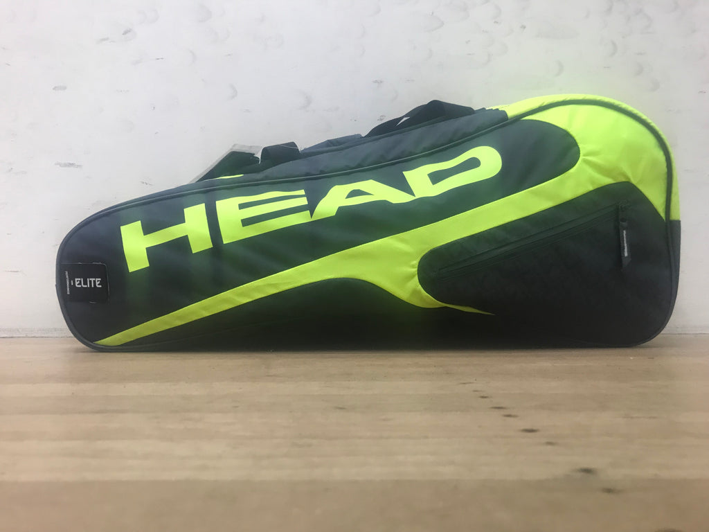 Head Elite All Court Bag GREY/NEON YELLOW
