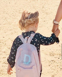 kids childrens personalised backpack photo from customer
