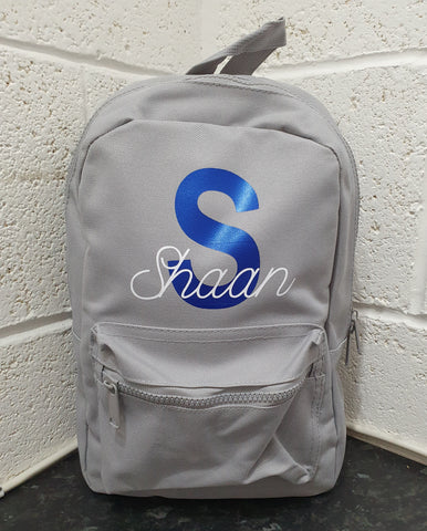 personalised backpack for kids toddlers