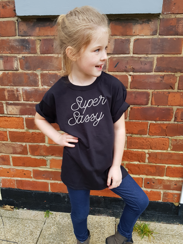 SUPER SASSY Kids T-Shirt - Original Life Clothing