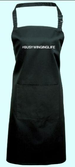 #BusyWingingLife Apron