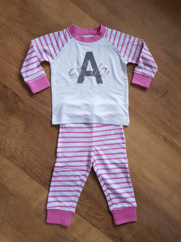 Personalised Pyjamas With Name