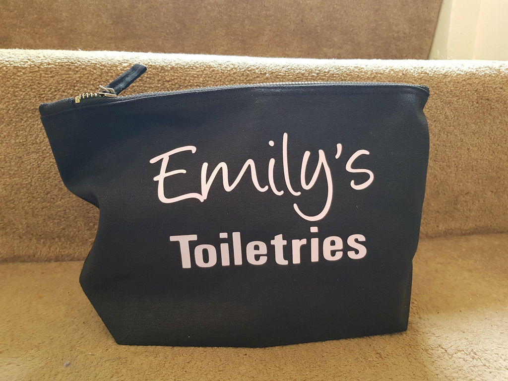 Toiletries Bag Personalised