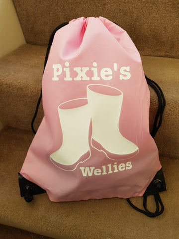 Personalised Wellies Bag Wellington Boots - Original Life Clothing