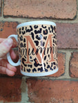 Mummy Mug Leopard Print Personalised - Original Life Clothing