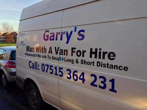 Large Van Signwriting DIY Kit