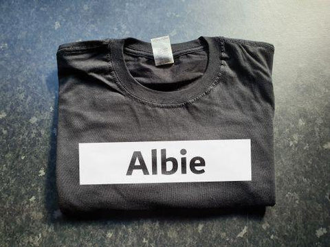 Name Box Kids T-Shirt