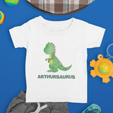 Name Saurus Dinosaur Kids T-Shirt