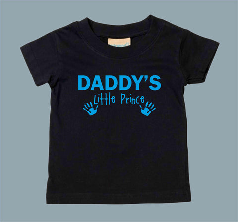 Daddys Little Prince Kids T-Shirt