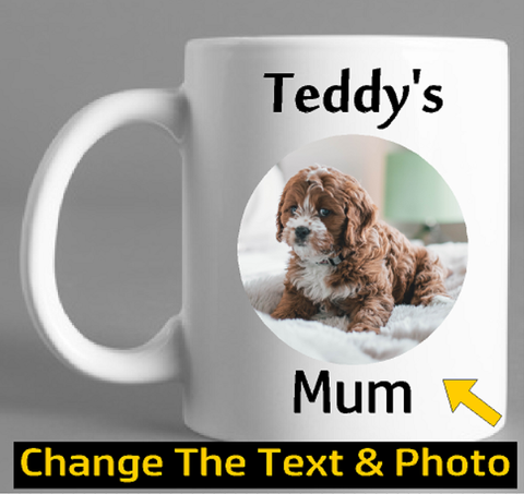 Dog Lover Gift Personalised Photo Mug - Original Life Clothing