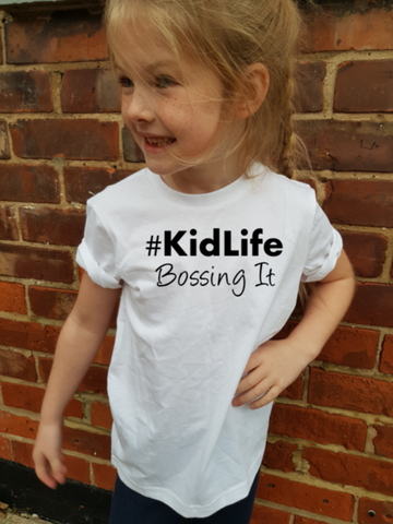 KIDLIFE BOSSING IT Kids T-Shirt - Original Life Clothing