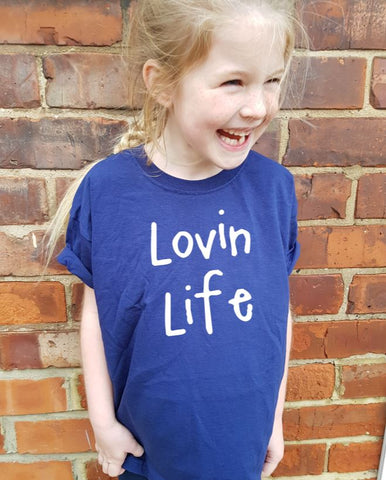 LOVIN LIFE Kids T-Shirt Clothing Original Life Clothing