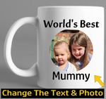 Worlds Best Mug Mothers Day Gift Fathers Day Gift - Original Life Clothing