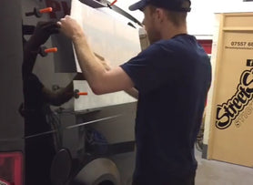 Vehicle Signwriting Application - Streetstyle Stickers