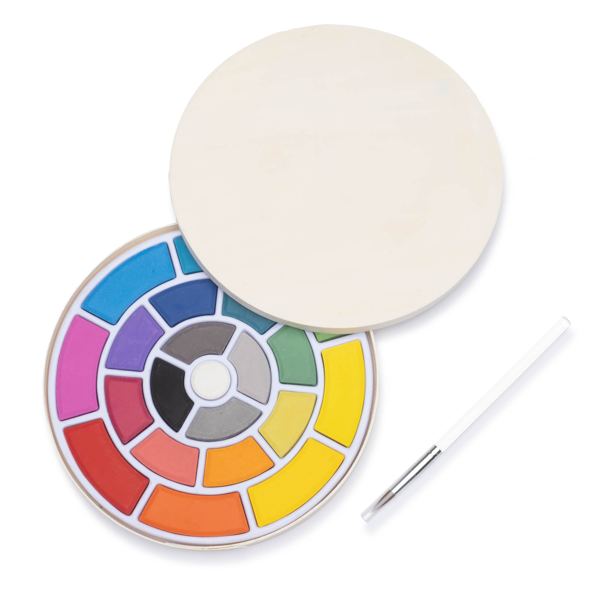 Color Wheel Watercolor Palette - colorfactoryshop