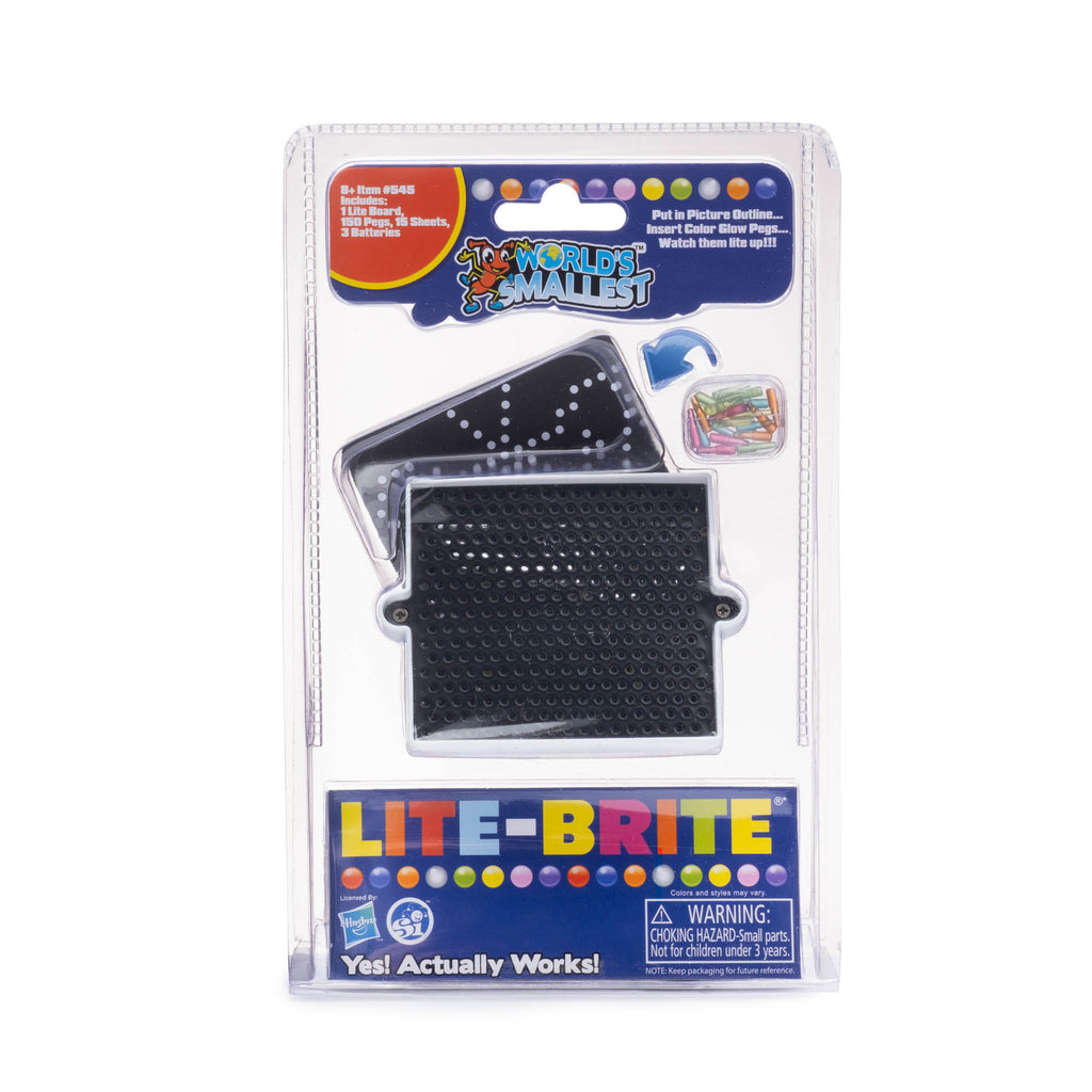 World's Smallest Lite Brite - colorfactoryshop