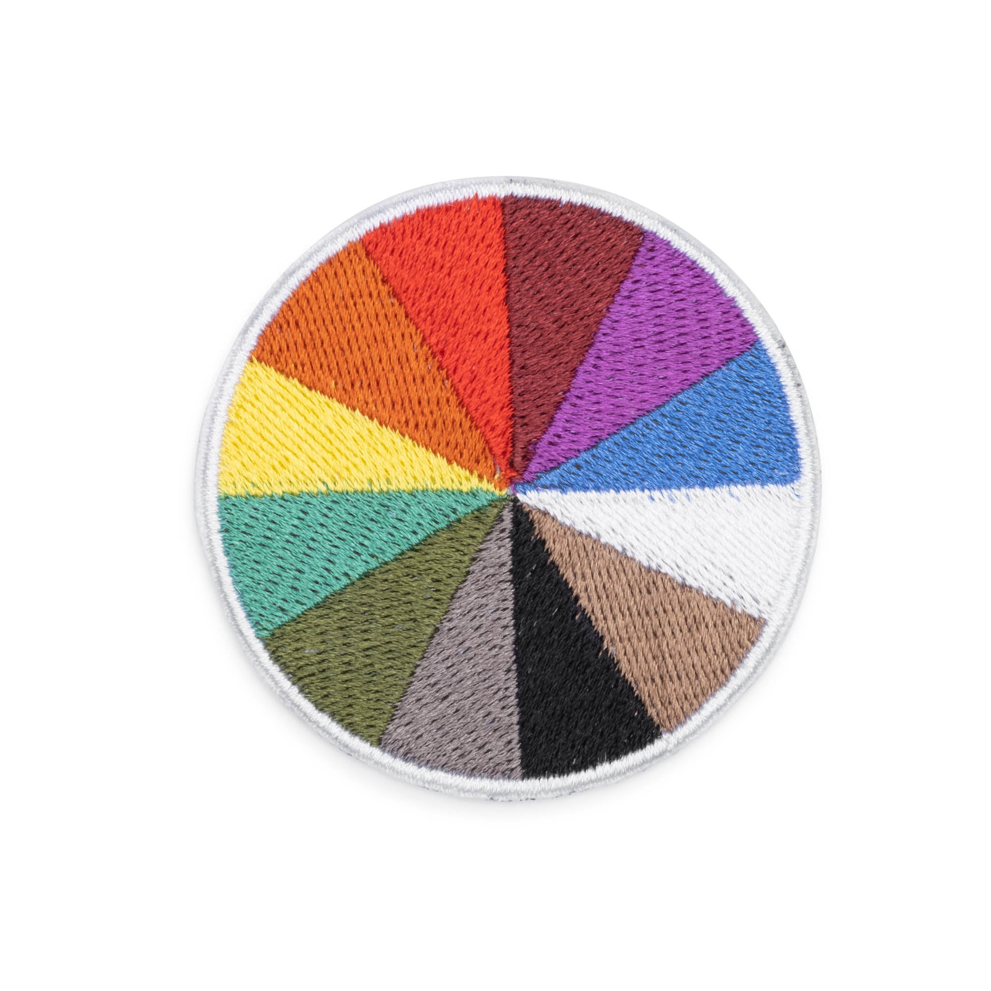 Color Factory Color Wheel Patch - colorfactoryshop