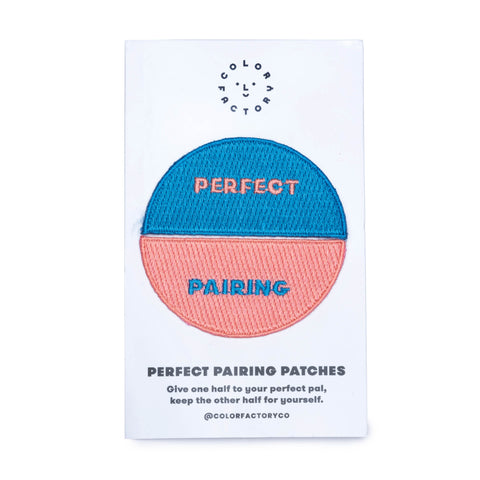 Color Factory Perfect Pairing Patch Set