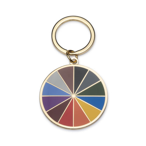 Color Factory Color Wheel Keyring - colorfactoryshop