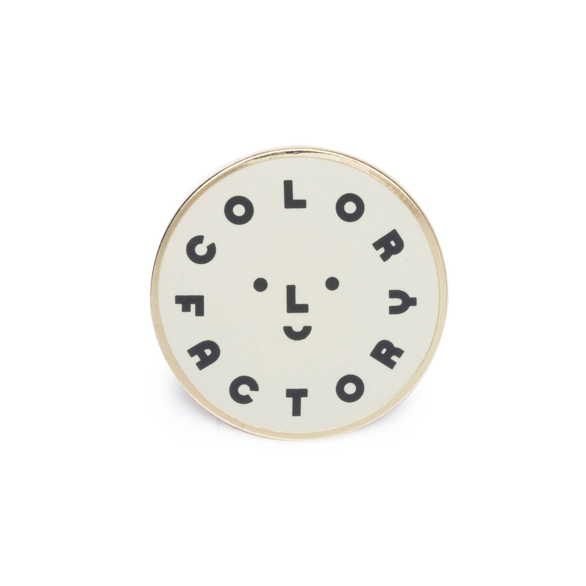 Color Factory Logo Pin - colorfactoryshop