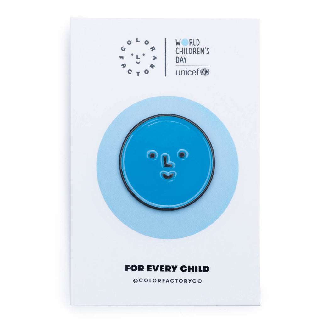 Color Factory x Unicef Pin - colorfactoryshop