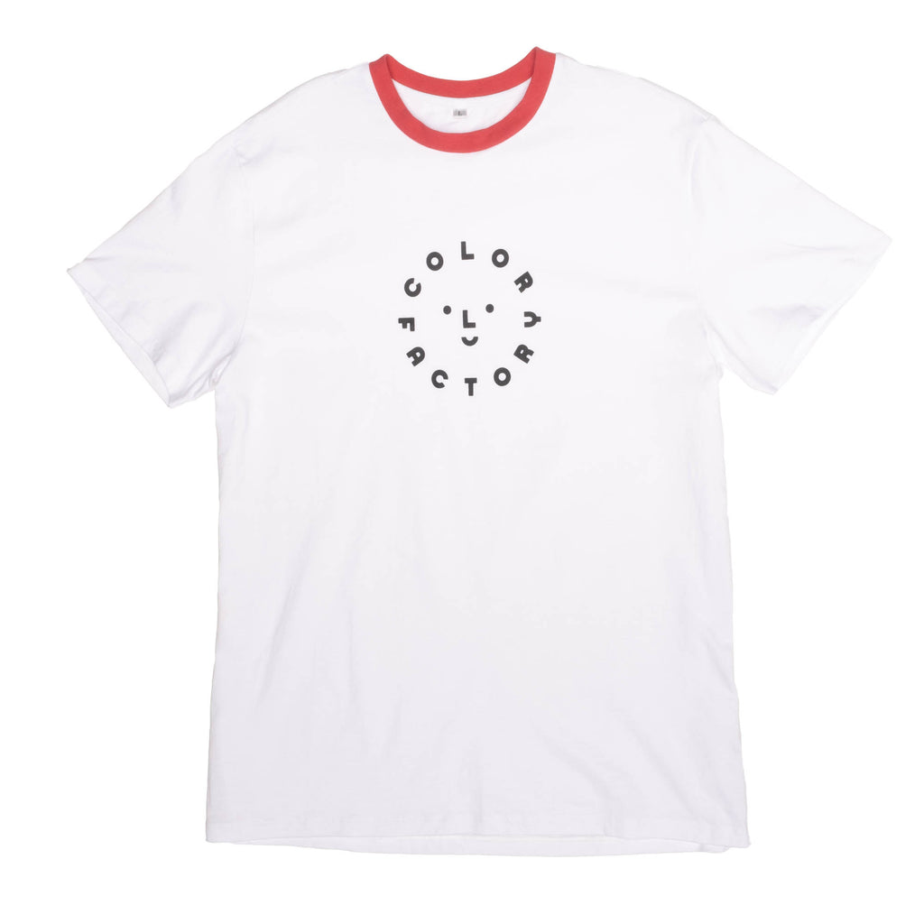 Color Factory Logo Ringer Tee - colorfactoryshop