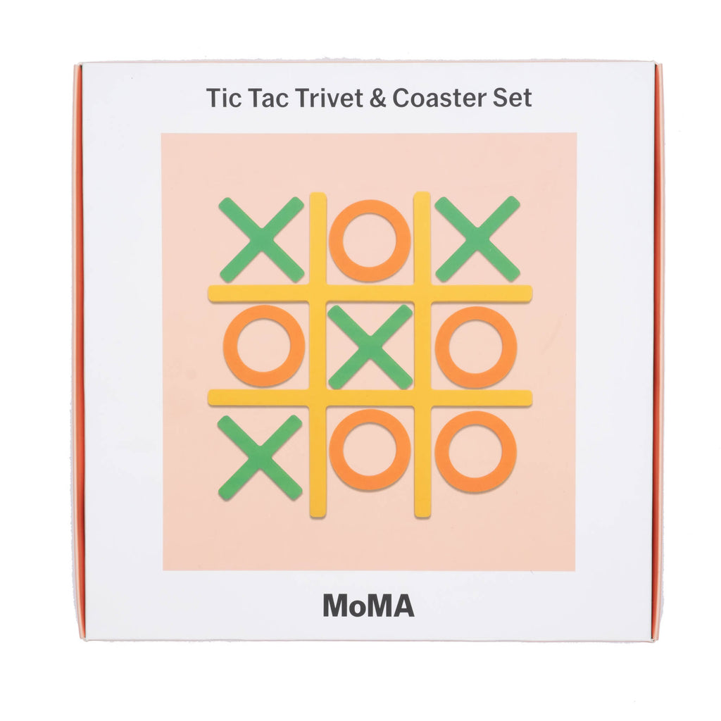 Tic-Tac-Trivet & Coaster Set - colorfactoryshop