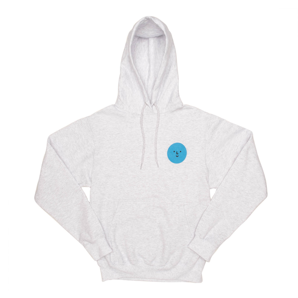 Color Factory Blue Face Hoodie - colorfactoryshop