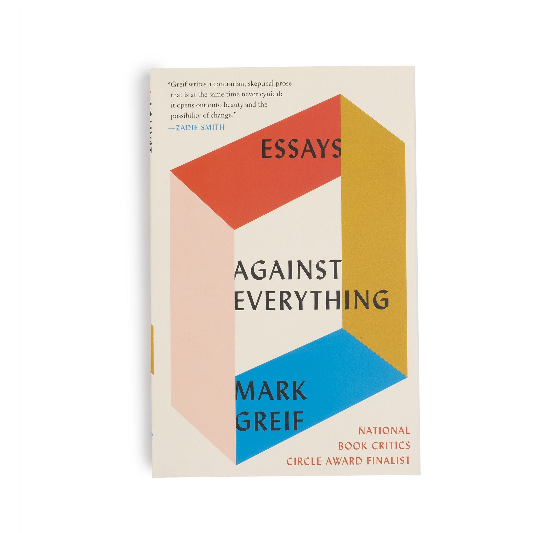 Against Everything: Essays - colorfactoryshop