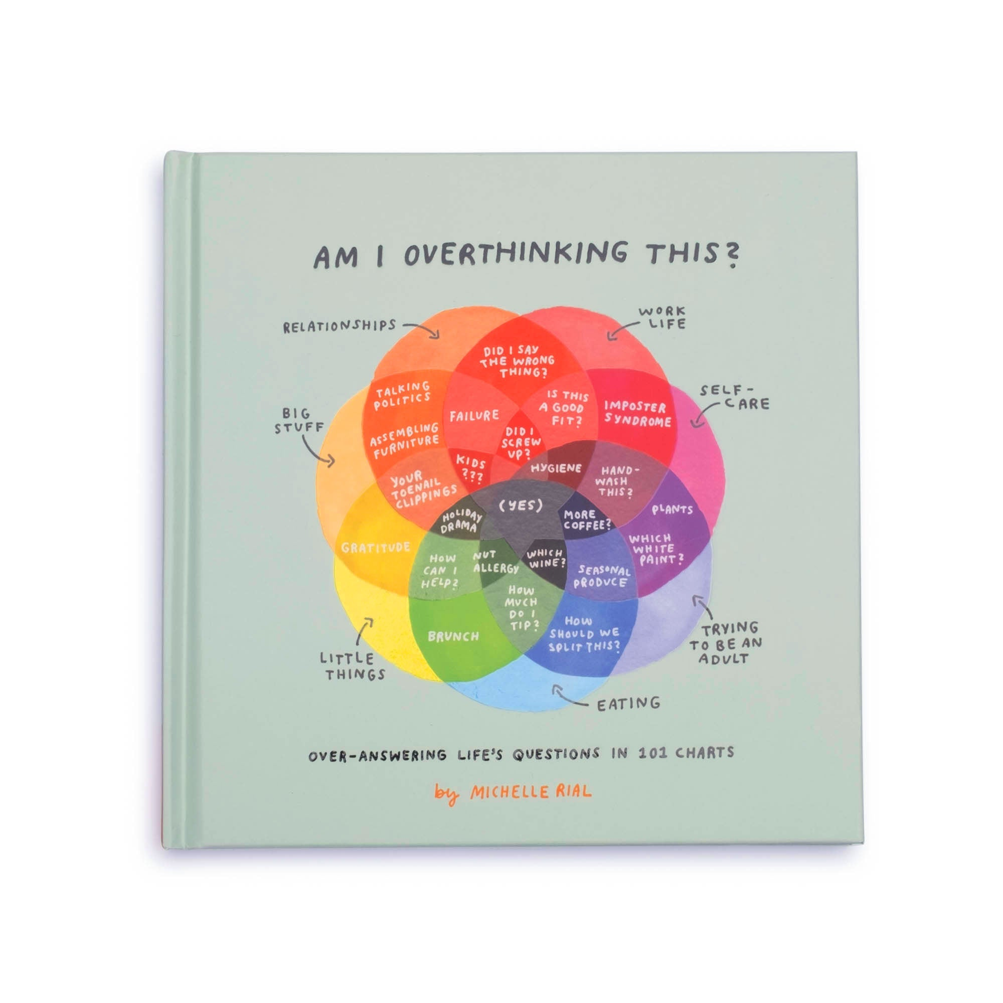 Am I Overthinking This?: Over-answering life's questions in 101 charts - colorfactoryshop